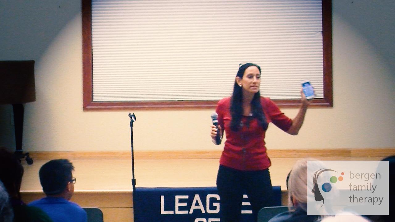 Screenagers Marna Lynn Talk Ridgewood, NJ